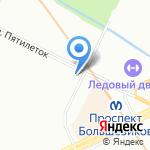 Три плюс два на карте Санкт-Петербурга
