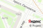 Схема проезда до компании Три плюс два, ТСЖ в Санкт-Петербурге