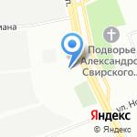 Айкидо цуруги на карте Санкт-Петербурга