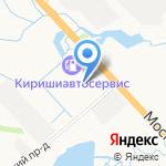 Автобаки на карте Санкт-Петербурга
