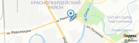 Avenue 1 на карте Санкт-Петербурга