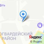 Русские шланги на карте Санкт-Петербурга