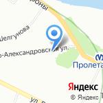 Центральный склад дверей на карте Санкт-Петербурга