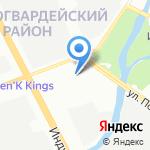 Профильная Петербургская Компания на карте Санкт-Петербурга