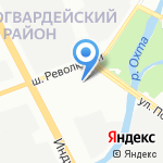 ТДК на карте Санкт-Петербурга