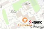 Схема проезда до компании Торин в Санкт-Петербурге