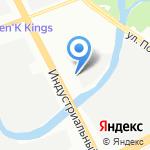 Shell на карте Санкт-Петербурга