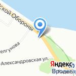 ВодоходЪ на карте Санкт-Петербурга