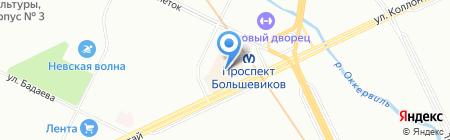 Компьютерный мир на карте Санкт-Петербурга