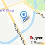 ЕвроАвто на карте Санкт-Петербурга