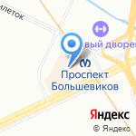 КомПом на карте Санкт-Петербурга