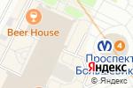 Схема проезда до компании Сеть магазинов горящих путевок в Санкт-Петербурге