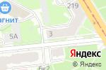 Схема проезда до компании АЛЬМА в Санкт-Петербурге