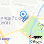 Вентиляционный завод на карте Санкт-Петербурга