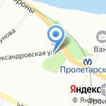 Ново-Александровская на карте Санкт-Петербурга