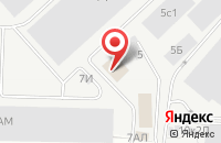 Схема проезда до компании Авангард в Санкт-Петербурге