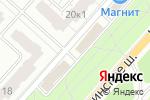Схема проезда до компании Вкус рыбы в Санкт-Петербурге