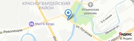 Гермес Керамика на карте Санкт-Петербурга