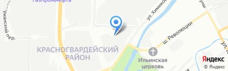 Автотрейд-СПБ на карте Санкт-Петербурга