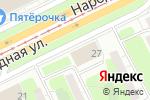 Схема проезда до компании Трикотажница в Санкт-Петербурге