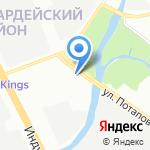 Банг и Бонсомер на карте Санкт-Петербурга