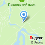 Розовый павильон на карте Санкт-Петербурга