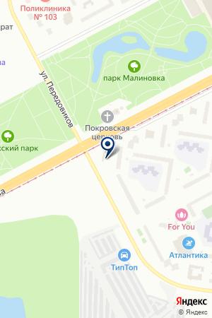 ТРАНСПОРТНО-ЭКСПЕДИЦИОННАЯ ФИРМА ЭКСПЕРТ АВТО на карте Санкт-Петербурга