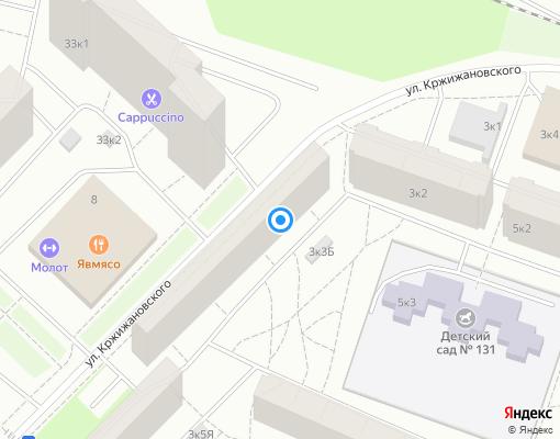 Жилищно-строительный кооператив «ЖСК 1199» на карте Санкт-Петербурга
