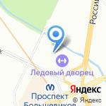 Эльдорадо на карте Санкт-Петербурга