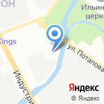ПОТАПОВ на карте Санкт-Петербурга