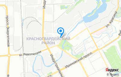 Местоположение на карте пункта техосмотра по адресу г Санкт-Петербург, ул Химиков, д 2
