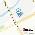 Зеленая Шина на карте Санкт-Петербурга