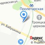 Школа-интернат №22 Невского района Санкт-Петербурга на карте Санкт-Петербурга