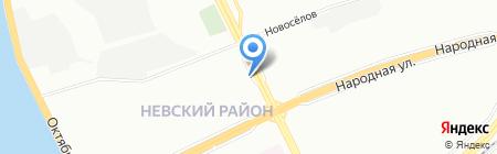 Кир24 на карте Санкт-Петербурга