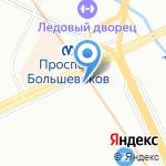 FitnessBar на карте Санкт-Петербурга