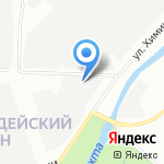 Автопервый на карте Санкт-Петербурга