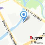 Фабрика Эксклюзивной мебели Алексея Симанькова на карте Санкт-Петербурга