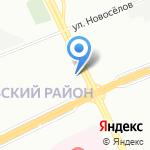Магазин уцененной бытовой техники на карте Санкт-Петербурга