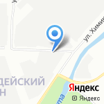 АМГ на карте Санкт-Петербурга
