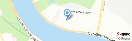 Средняя общеобразовательная школа №338 с дошкольным отделением на карте Санкт-Петербурга