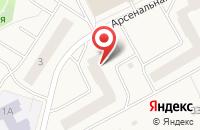Схема проезда до компании Парус в Новом Девяткино