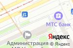 Схема проезда до компании Штолле в Санкт-Петербурге