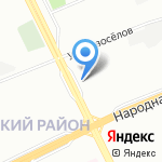 Полдюйма на карте Санкт-Петербурга