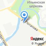 Орлеан на карте Санкт-Петербурга