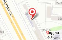 Схема проезда до компании Контекст в Санкт-Петербурге