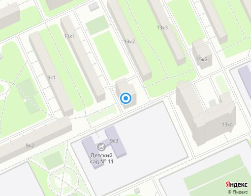 Жилищно-строительный кооператив «жск482» на карте Санкт-Петербурга