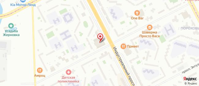 Карта расположения пункта доставки 6069 Постамат ОМНИСДЭК в городе Санкт-Петербург
