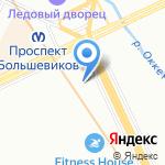 Магазин семян и рассады на карте Санкт-Петербурга