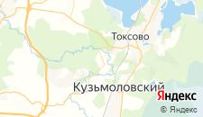 Гостиницы города Сярьги на карте