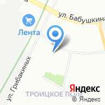 Кедр-СПб на карте Санкт-Петербурга